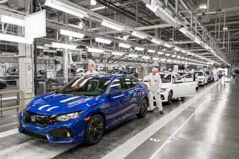 Váratlanul leállt a Honda brit gyára