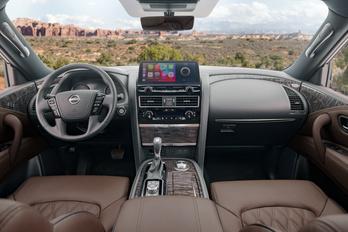 Érdekes stílusban újul meg a Nissan óriás-terepjárója