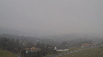 Szentgotthárdon már esik a hó!