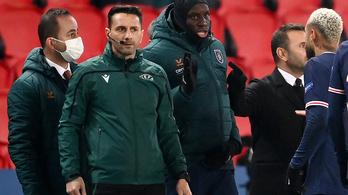 Elnézést kért a román játékvezető a BL-ben tett rasszista megjegyzése miatt