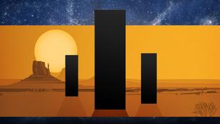 A sivatagi fémoszlopok rejtélye: vajon mit akarnak üzenni?