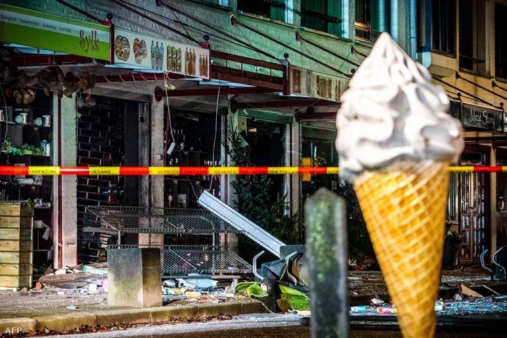 Az egyik támadás helyszíne Heeswijk-Dintherben 2020. december 8-án