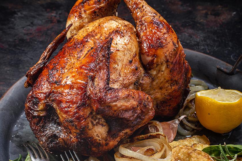 sörösdobozon sült csirke