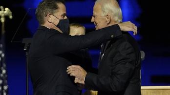 Szövetségi adóügyi vizsgálat indult Joe Biden fia ellen