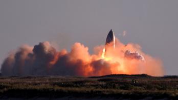 Felrobbant földet éréskor a SpaceX Csillaghajója