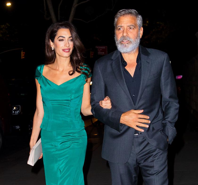 George Clooney a The Midnight Sky miatt növesztette meg a szakállát.