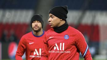 A Paris Saint-Germain megtartaná Neymart és Mbappét