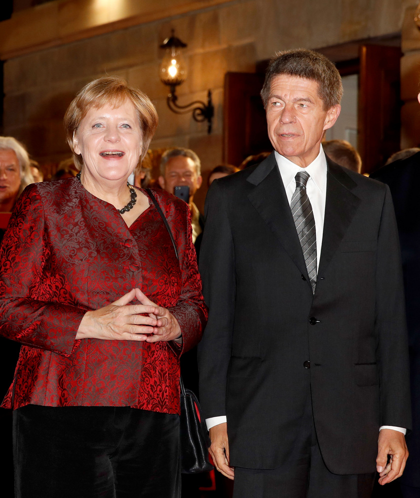 Angela Merkel és férje, Joachim Sauer csak ritkán mutatkoznak együtt.