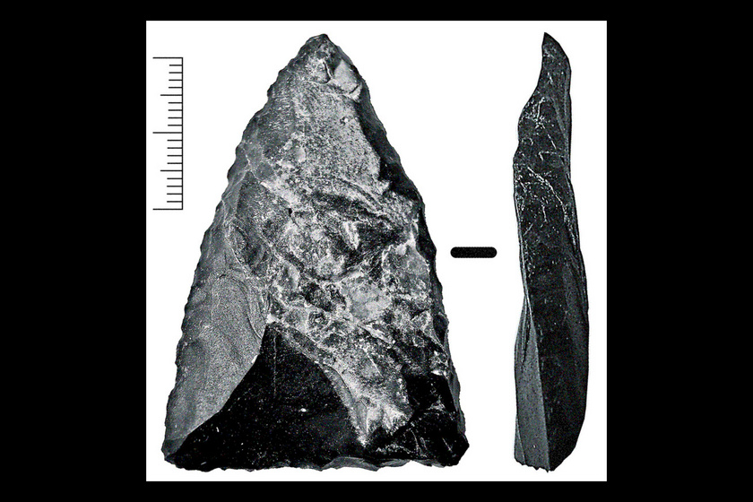 Neander-völgyi szúrófegyvervég.