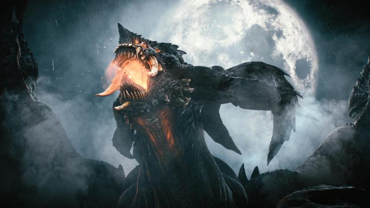 Ez a sárkány nem Süsü... (Demon's Souls – forrás: Sony)