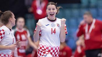 Horvátország Romániát is legyőzte a női kézilabda Eb-n