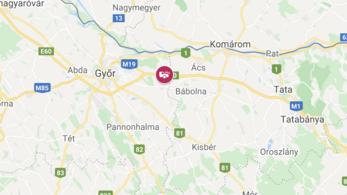 Félpályán már megindult a forgalom az M1-esen Győr térségében
