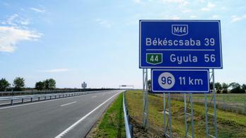 Megnyílik az M44-es autóút újabb szakasza