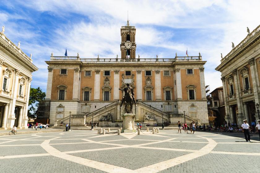 Piazza del Campidoglio, Róma.