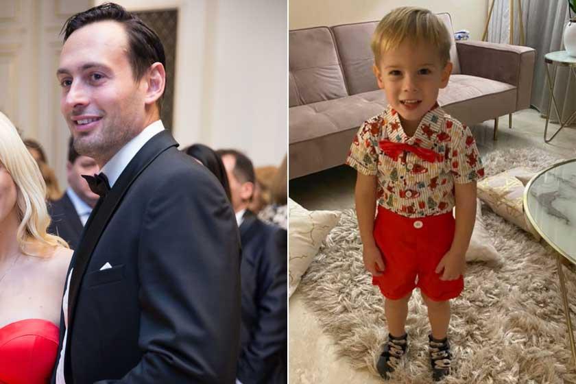 Edward stílusos, mint az apja. Mindketten szívdöglesztően festenek csokornyakkendőben.