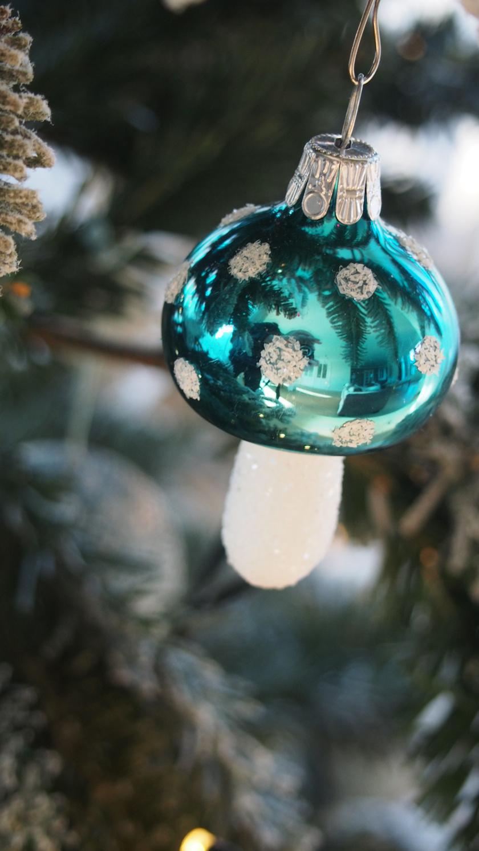 gomba disz karácsony