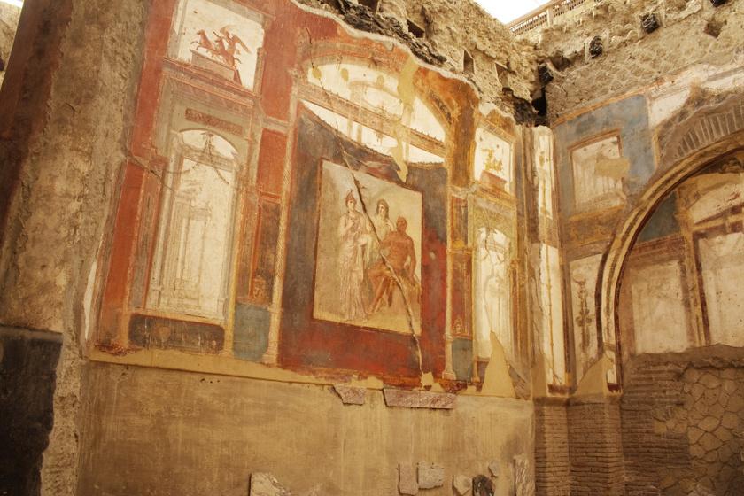 Mi lesz így Pompeji freskóival? Egyre súlyosabb állapotba kerülnek a régészeti feltárások miatt