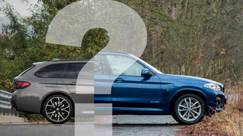 Video: BMW 5 Touring az X3 ellen