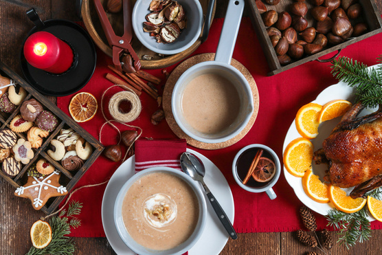 A karácsonyi asztalon is tökéletes.