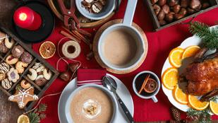 Még egy klassz ünnepi leves: gesztenyével és rumos aszalt szilvával