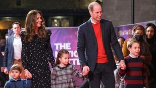 Régen láttuk már így egy képen Vilmos herceget és a családját