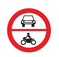 Be lehet hajtani gépjárművel olyan útszakaszra, ami előtt ez a jelzés áll?