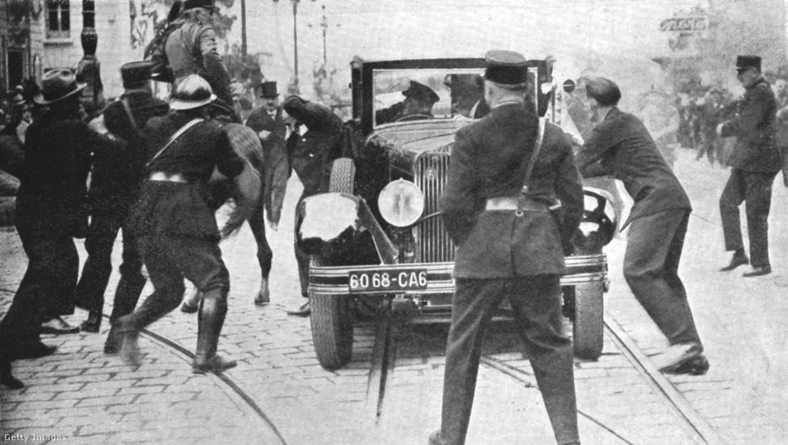 Karagyorgyevics Sándor Jugoszláv király meggyilkolása 1934-ben.
