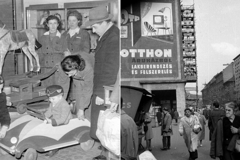 Ilyenek voltak a Kádár-korszakban Budapest legendás áruházai: az Úttörőt imádták a gyerekek