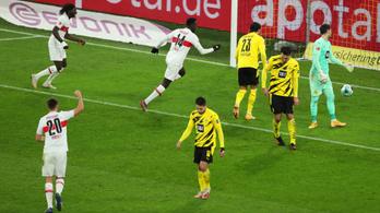 Saját pályáján alázta meg a Borussia Dortmundot a Stuttgart