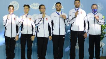 Történelmi siker: először Európa-bajnoki érmes a magyar férfi tornászcsapat