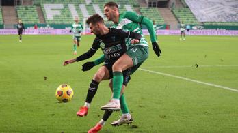 Két villanás elég volt, a Ferencváros a ZTE-t is legyőzte