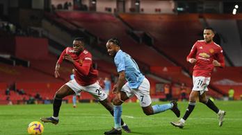 A Manchester City sem tudta legyőzni a Unitedet a PL-ben