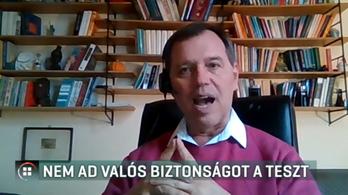 Szlávik János: hamis biztonságérzetet nyújthat a karácsony előtti tesztelés