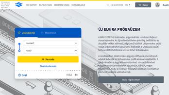 Megújult a MÁV jegyértékesítési rendszere