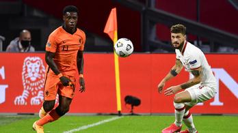 Késeléssel vádolják a holland válogatott futballistát