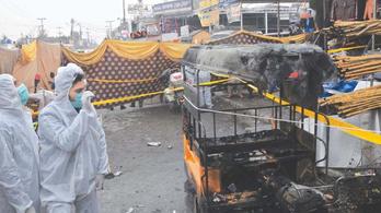 Robbanás történt Pakisztánban