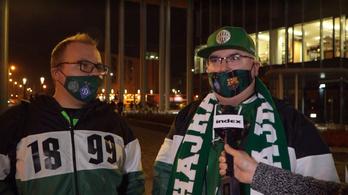 """""""Csodálatos érzés"""" – az FTC-szurkolók győzelmet várnak a Dinamo ellen"""