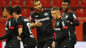 Győzött és vezeti a Bundesligát a Leverkusen