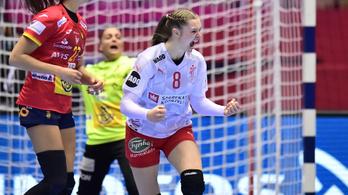 Dánia továbbra is versenyben az élődöntőért a női kézi Eb-n
