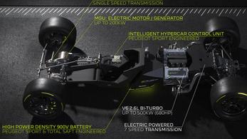V6-os köré épül a Le Mans-i Peugeot
