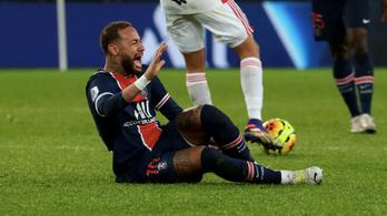 Neymar súlyosnak tűnő sérülést szenvedett