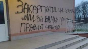 Megjelent a nacionalizmus Tiszapéterfalván