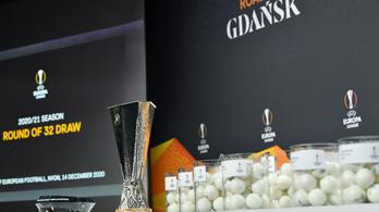 Európa-liga: Nehéz ellenfelet kapott a Manchester United és az Arsenal