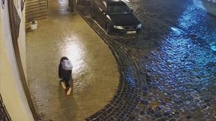 Úgy lefagyott Kijev, hogy volt, akinek négykézláb se sikerült közlekedni