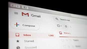 Leállt a Gmail