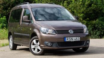 Használtteszt: Volkswagen Caddy Life Maxi 1.6 CR TDI DSG - 2013.