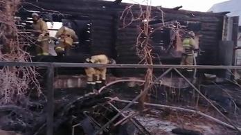 Teljesen leégett egy idősotthon Baskírföldön, tizenegyen meghaltak