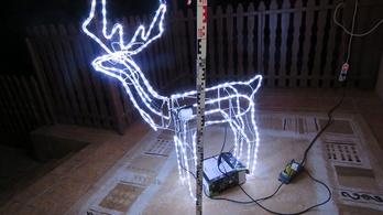 Itt a karácsony, világító rénszarvasfigurát lopott egy jászladányi férfi