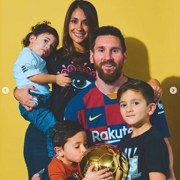 messi-családja