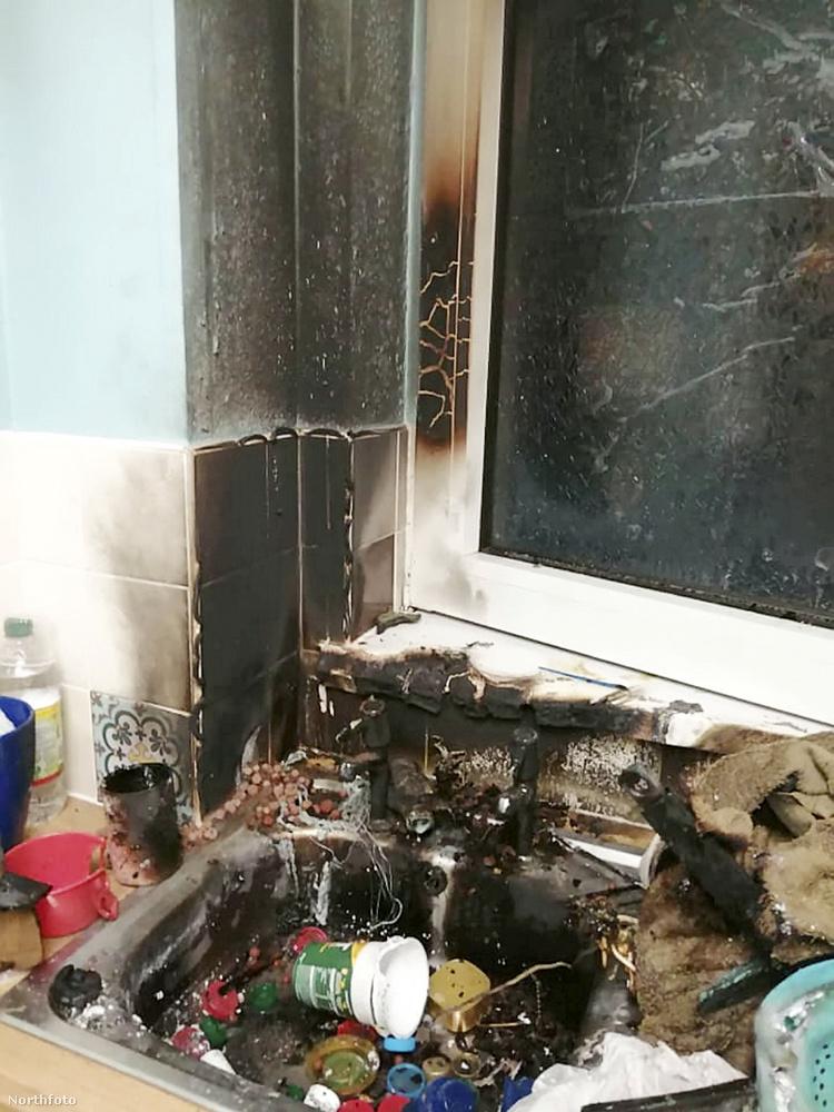 Crews a tűzoltóktól tudta meg, hogy egy gránátot néztek ámbrának, és azt javasolták, egy darabig még ne igyon a csapból